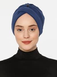 Indigo - Lace up - Bonnet