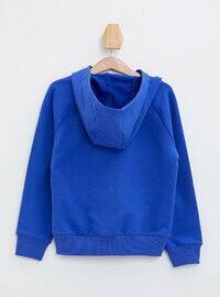 Blue - Girls` Sweatshirt