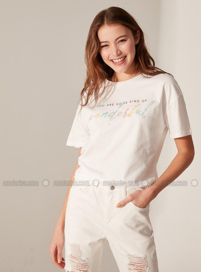 Ecru - T-Shirt
