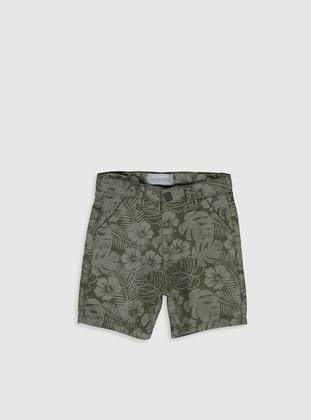 Khaki - Baby Shorts