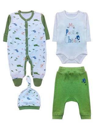 - Green - Baby Suit