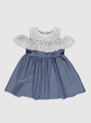 Indigo - Baby Dress - LC WAIKIKI