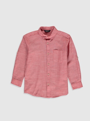 Red - Boys` Shirt - LC WAIKIKI
