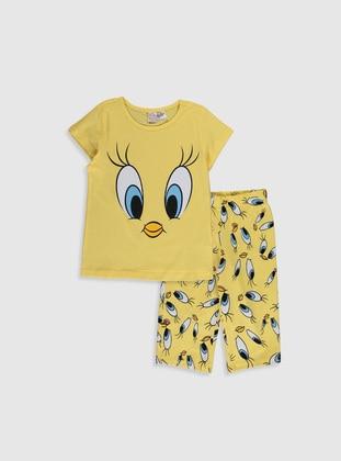 Yellow - Girls` Pyjamas