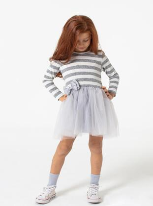 Gray - Girls` Dress