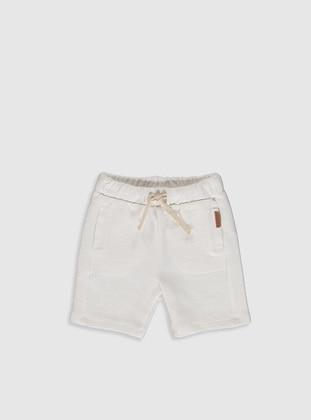 Ecru - Baby Shorts