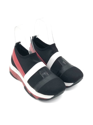 White - Red - Black - Sport - Sports Shoes