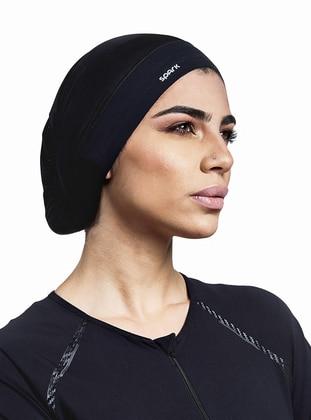 Black - Sports Bonnet - Spark