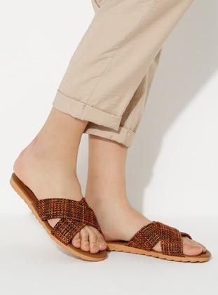 Terra Cotta - Sandal - Slippers