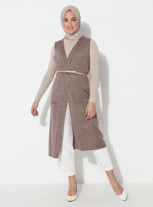 Mink - Unlined - Acrylic -  -  - Vest
