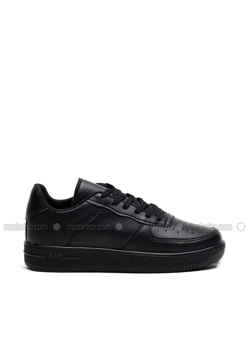 Black - Sport - Sports Shoes - Ayakkabı Modası