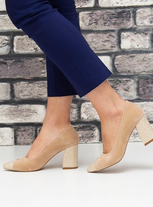 Nude - High Heel - Evening Shoes - Snox