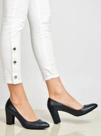 Navy Blue - High Heel - Heels