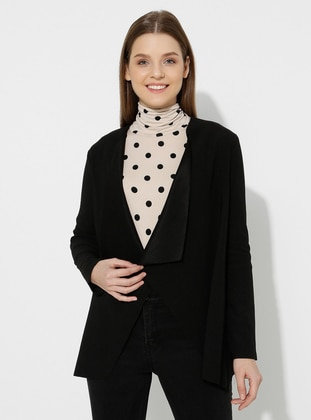 Black - Unlined -  - Jacket