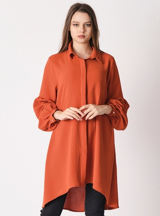 Terra Cotta - Point Collar -  - Tunic