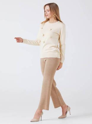 Cream - Jumper