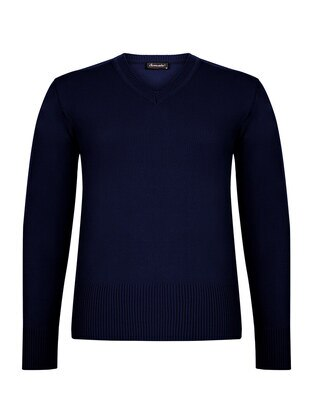 Navy Blue - Jumper