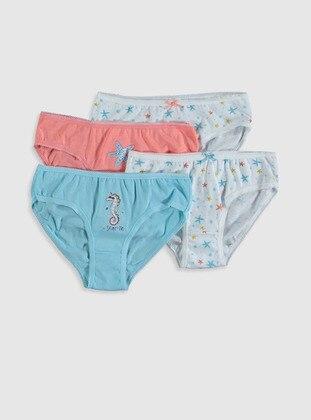 Blue - Girls` Underwear