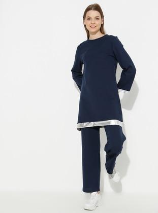 - Navy Blue - Loungewear Suits - Meliana