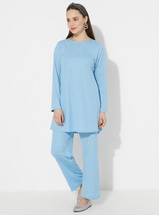 - Blue - Loungewear Suits - ROSS MODAIST