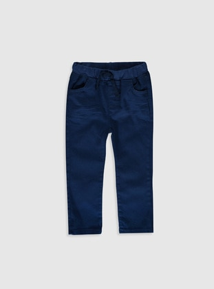 Navy Blue - Baby Pants