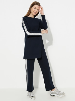 - Navy Blue - Loungewear Suits - Meliana