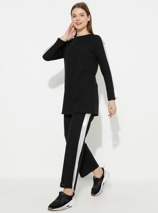 - Black - Loungewear Suits