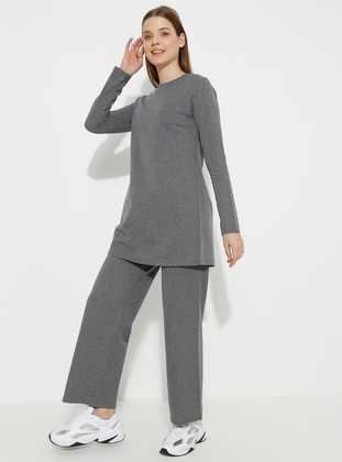 - Gray - Loungewear Suits - Meliana
