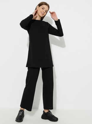 - Black - Loungewear Suits - Meliana