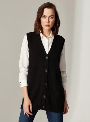 Black - Vest