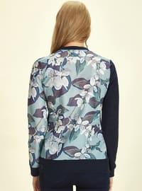 Multi - Floral - Crew neck - - Blouses