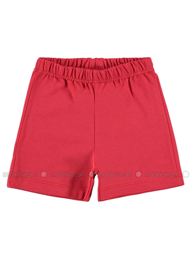 Red - Baby Shorts