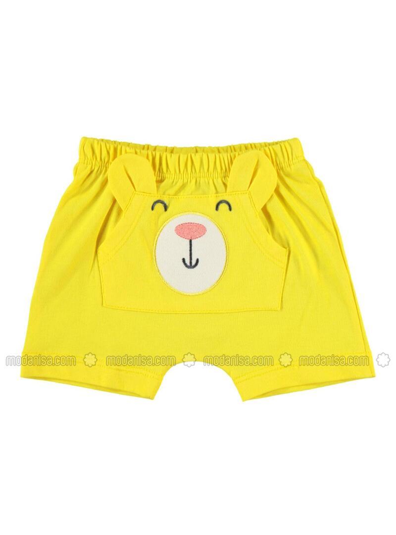Yellow - Baby Shorts