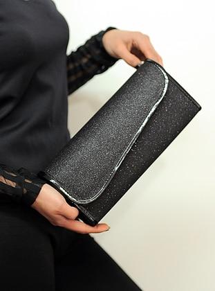 Black - Satchel - Clutch Bags / Handbags