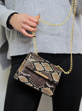 Brown - Clutch - Clutch Bags / Handbags