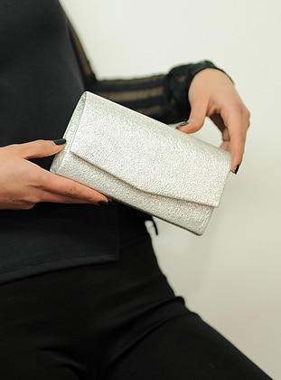 Lamé - Clutch - Clutch Bags / Handbags