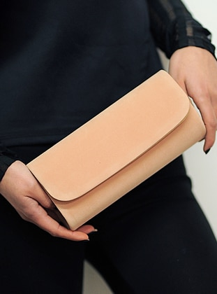Nude - Clutch - Clutch Bags / Handbags