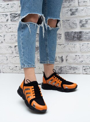 Orange - Sport - Sports Shoes