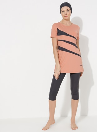Salmon - Unlined - Half Covered Switsuits