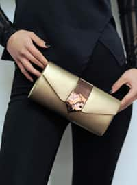 Copper - Satchel - Clutch Bags / Handbags