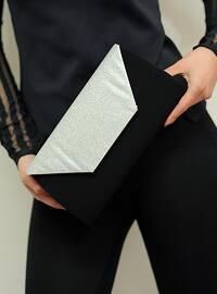 Lamé - Satchel - Clutch Bags / Handbags