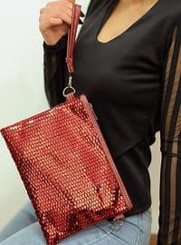 Red - Satchel - Clutch Bags / Handbags