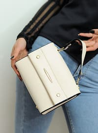 Cream - Satchel - Shoulder Bags