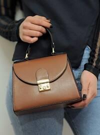Beige - Tan - Satchel - Shoulder Bags