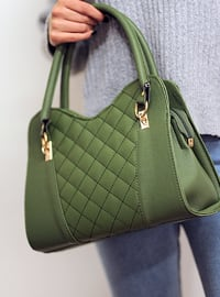 Green - Satchel - Shoulder Bags