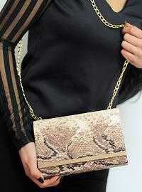 Beige - Clutch - Clutch Bags / Handbags