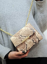 Beige - Clutch - Clutch Bags / Handbags
