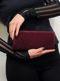 Maroon - Clutch Bags / Handbags