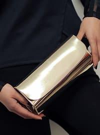 Gold - Clutch - Clutch Bags / Handbags