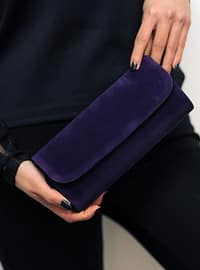 Purple - Clutch - Clutch Bags / Handbags